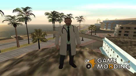 Скины медиков в HD (By Luntik) для GTA San Andreas