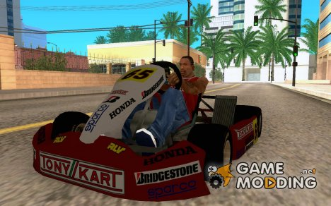 New Kart for GTA San Andreas