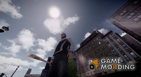 [HD] Wooden Baseball Bat для GTA 4