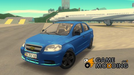 Chevrolet Aveo 2007 for GTA 3