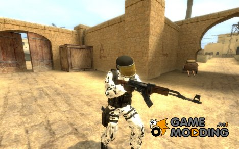 Snow camo GIGN для Counter-Strike Source