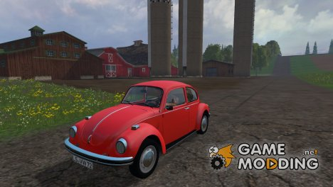 Volkswagen Beetle 1973 для Farming Simulator 2015