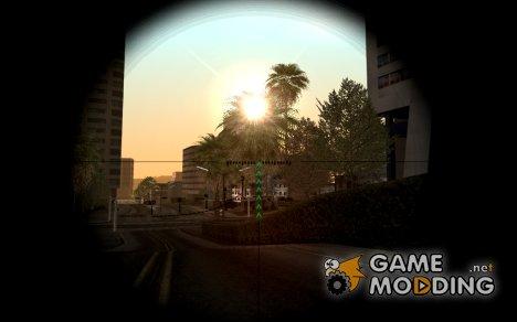 Прицел ПСО-1 для снайперской винтовки для GTA San Andreas