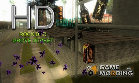 Rock Bar HD for GTA San Andreas