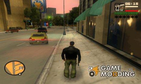 Худ в стиле San Andreas для GTA 3
