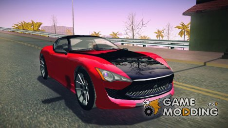 GTA V Lampadati Furore GT для GTA San Andreas