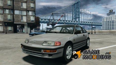 Honda CRX 1991 для GTA 4