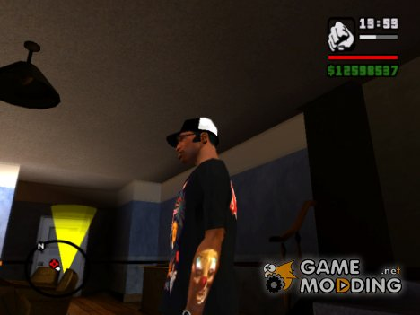 Тату Slipknot  Shawn Crahan для GTA San Andreas