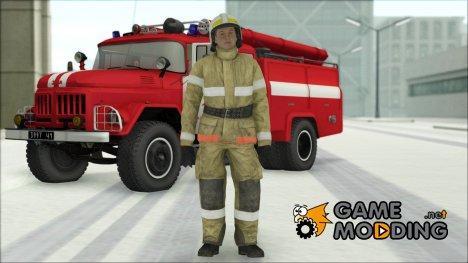Сотрудник МЧС v.2 for GTA San Andreas