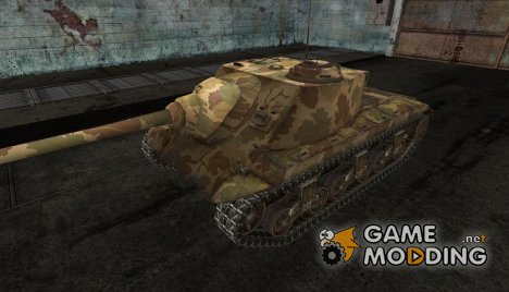 шкурка для T25 AT №4 for World of Tanks