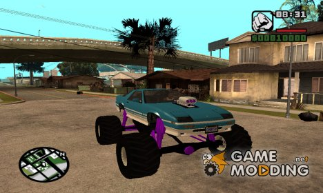 GTA 5 Imponte Ruiner Monster Truck для GTA San Andreas
