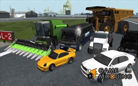 Полная замена всех машин в HD for GTA San Andreas