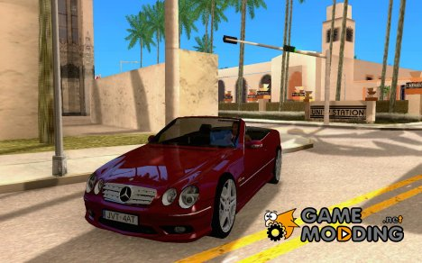 Mercedes-Benz CL65 Cabriolet для GTA San Andreas