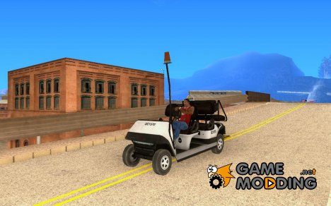 Багажная машина из COD MW 2 for GTA San Andreas