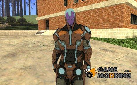 Living Laser Skin для GTA San Andreas