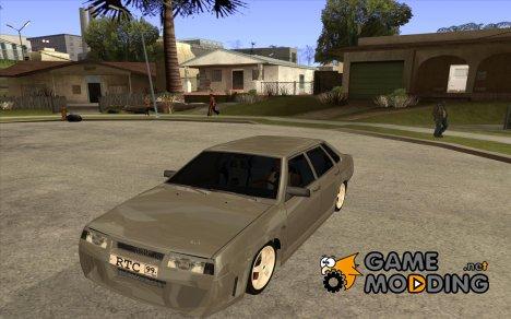 ВАЗ 2199 Любера тюнинг for GTA San Andreas