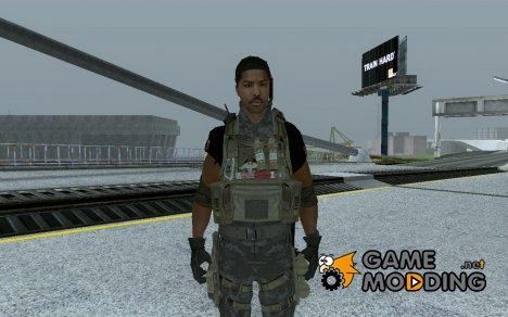 Григгс из Call of Duty 4 for GTA San Andreas