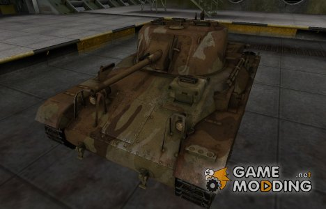Шкурка для американского танка M22 Locust для World of Tanks