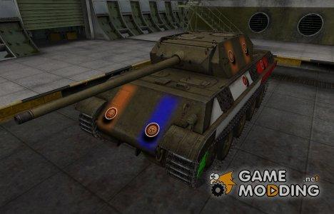 Качественный скин для Panther/M10 for World of Tanks