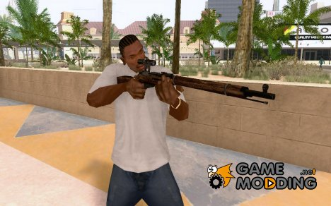Mosin–Nagant for GTA San Andreas