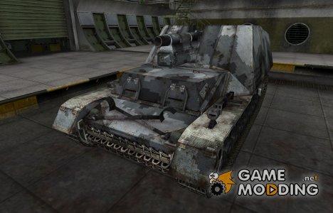 Камуфлированный скин для Hummel для World of Tanks