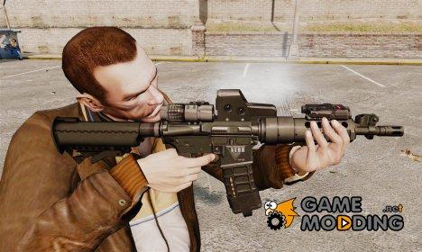 Тактическая M4 v3 for GTA 4