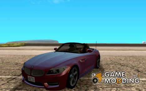 BMW Z4 2010 for GTA San Andreas