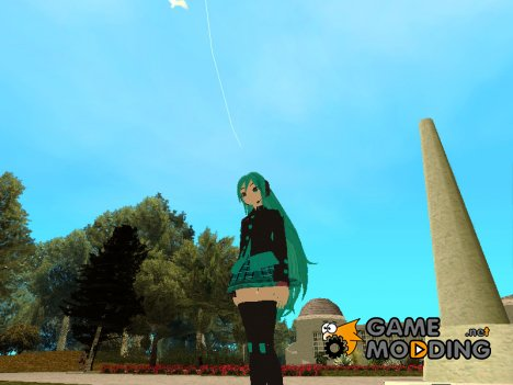 Miku Hatsune MMD для GTA San Andreas
