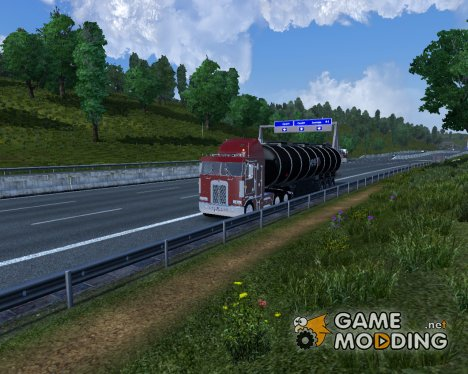 HD Graphics 2.0 for Euro Truck Simulator 2
