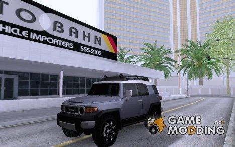 Toyota FJ Crusier для GTA San Andreas