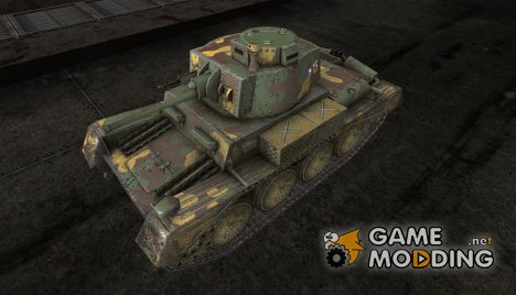 Шкурка для Pz38NA для World of Tanks