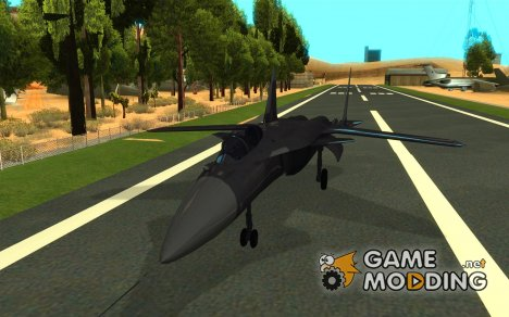 Су-47 «Беркут» Defolt for GTA San Andreas