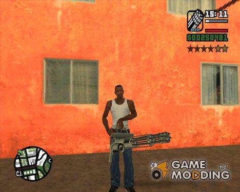 Выбор оружия по ID для GTA San Andreas
