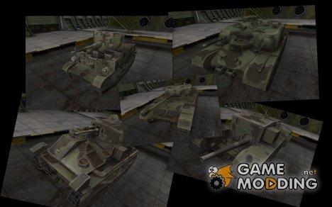 Пак британской техники для World of Tanks