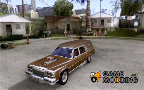 Cadillac Fleetwood 1985 Hearse Tuned for GTA San Andreas