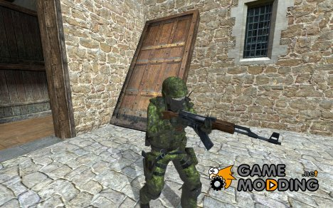 Canadian Forces Cadpat для Counter-Strike Source
