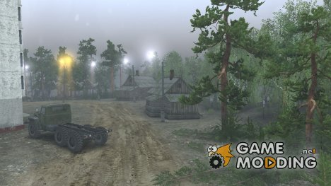 Поселок Кирова V 0.2 for Spintires 2014