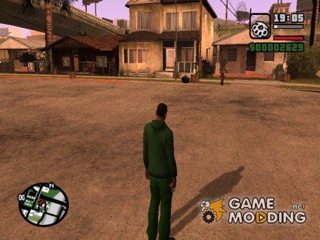 Тени для очень слабых пк for GTA San Andreas