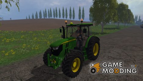 John Deere 6090 for Farming Simulator 2015