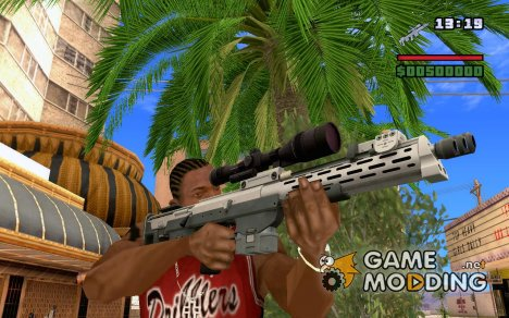 Снайперская винтовка из EFLC TBoGT for GTA San Andreas