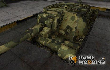 Скин для ИСУ-152 с камуфляжем для World of Tanks