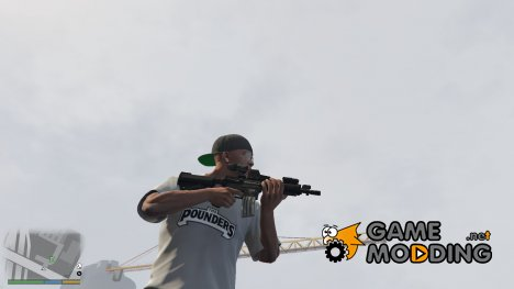 Tactical M4 with the acog site for GTA 5