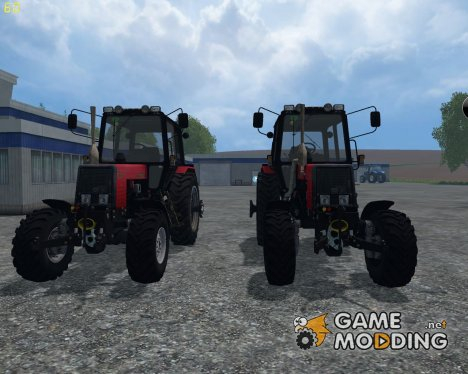 MTZ 89.2 v1.0 for Farming Simulator 2015