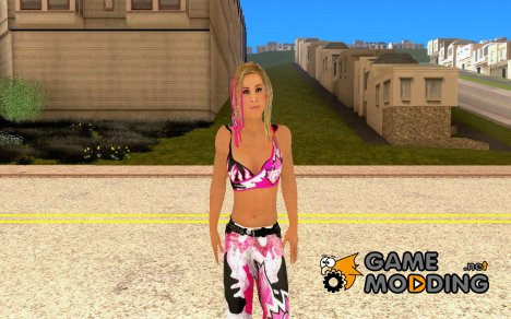 Natalya Hart from Smackdown vs Raw 2011 Xbox for GTA San Andreas