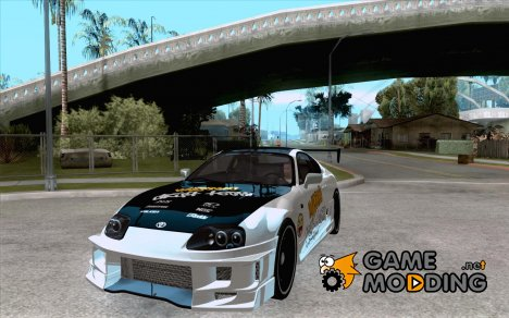 Toyota Supra MyGame Drift Team for GTA San Andreas