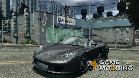 Porsche Carrera GT for GTA 4