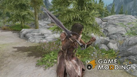 One-hand Grip for TES V Skyrim