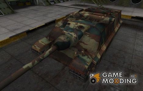 Французкий новый скин для AMX-50 Foch (155) для World of Tanks