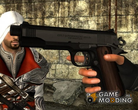 MGS3 - Naked Snake Custom M1911 для Fallout New Vegas