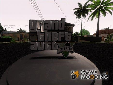 Пак машин, скинов, оружия и т.д из GTA V v.2 для GTA San Andreas